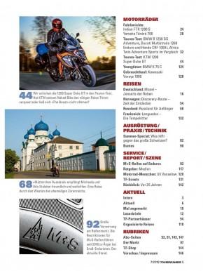 TOURENFAHRER Juli 2019 gedruckte Ausgabe