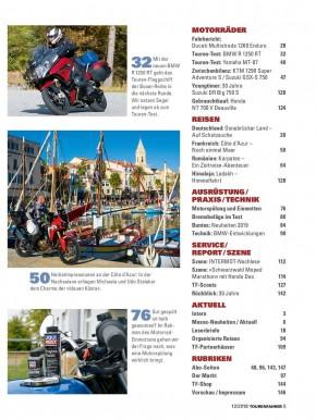 TOURENFAHRER Dezember 2018 gedruckte Ausgabe