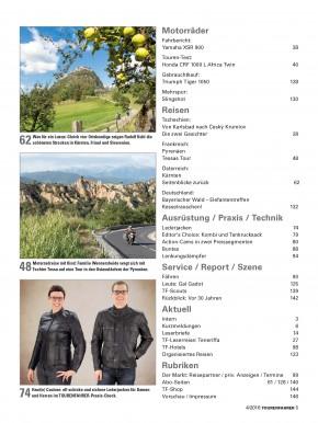 TOURENFAHRER April 2016 gedruckte Ausgabe