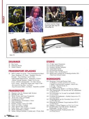 drums&percussion Januar/Februar 2011