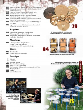 drums&percussion November/Dezember 2013