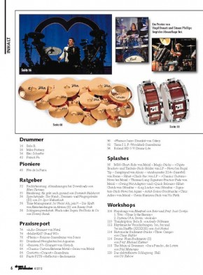 drums&percussion Juli/August 2012