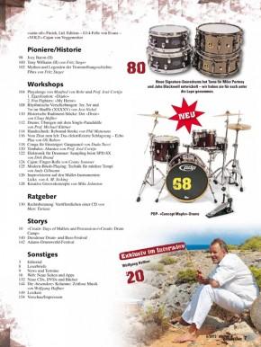 drums&percussion November/Dezember 2012 E-Paper