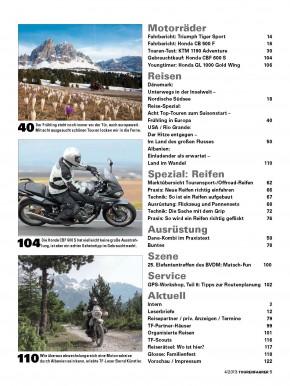 TOURENFAHRER April 2013 gedruckte Ausgabe