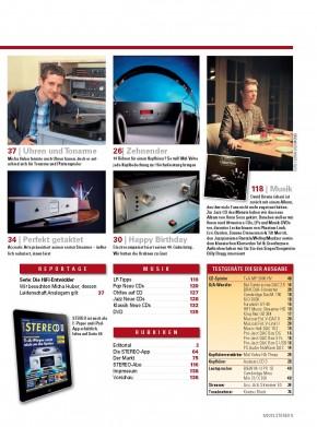 STEREO Mai 2013 gedruckte Ausgabe