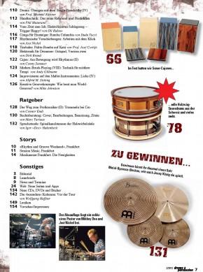drums&percussion Mai/Juni 2013