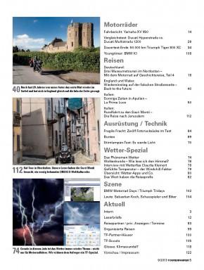 TOURENFAHRER September 2013 gedruckte Ausgabe