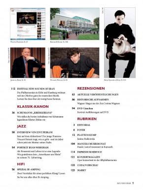 FonoForum September 2013 gedruckte Ausgabe