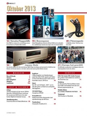 STEREO Oktober 2013 gedruckte Ausgabe