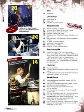 drums&percussion November/Dezember 2014