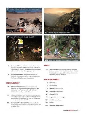 MotorradABENTEUER Januar/Februar 2014 gedruckte Ausgabe