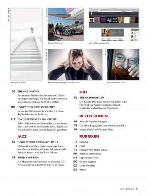 Fono Forum März 2014 gedruckte Ausgabe