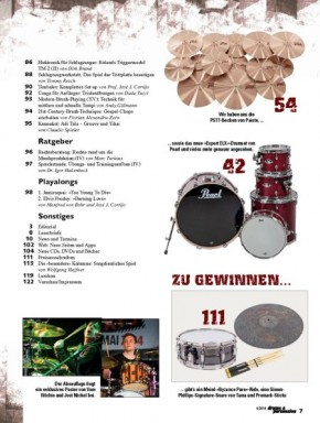 drums&percussion Juli/August 2014
