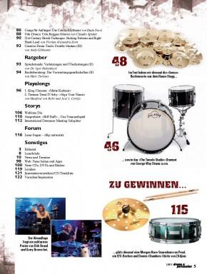 drums&percussion Januar/Februar 2015 E-Paper