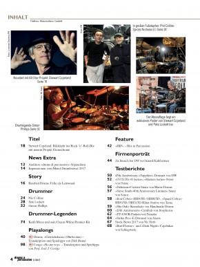 drums&percussion September/Oktober 2017