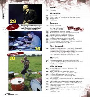 drums&percussion Januar/Februar 2016