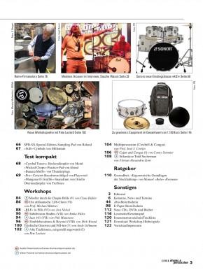 drums&percussion März/April 2018 gedruckte Ausgabe