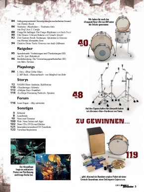 drums&percussion März/April 2015 E-Paper