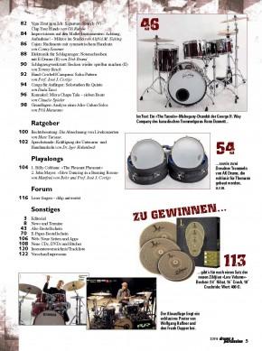 drums&percussion März/April 2016 gedruckte Ausgabe