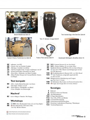 drums&percussion Mai/Juni 2018