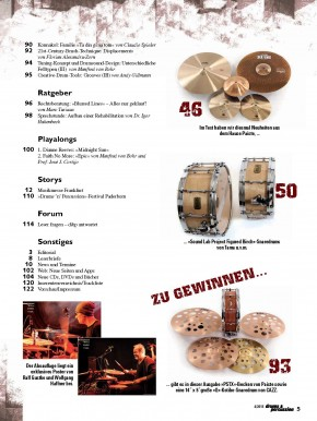 drums&percussion Juli/August 2015