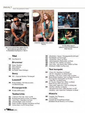 drums&percussion Juli/August 2016