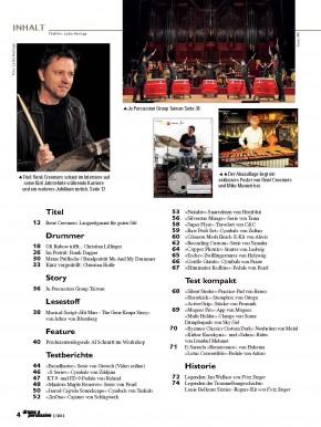 drums&percussion September/Oktober 2016