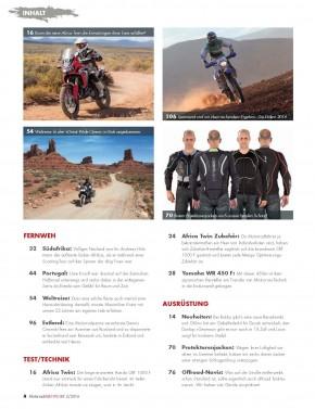 MotorradABENTEUER März/April 2016 gedruckte Ausgabe
