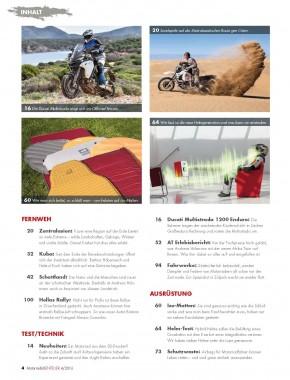 MotorradABENTEUER Juli/August 2016 gedruckte Ausgabe