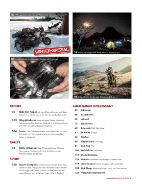 MotorradABENTEUER November/Dezember 2017 E-Paper