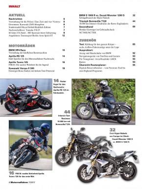 MOTORRADFAHRER Juli 2017 E-Paper