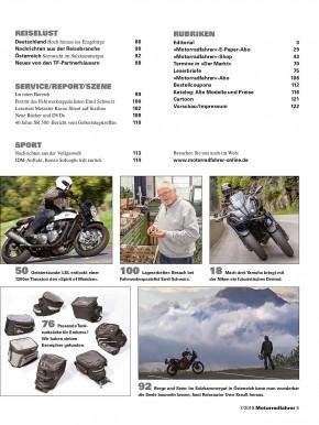 MOTORRADFAHRER Juli 2018 gedruckte Ausgabe