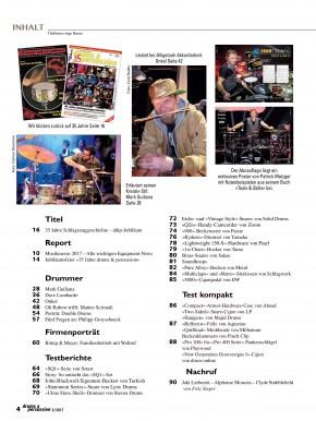drums&percussion Mai/Juni 2017
