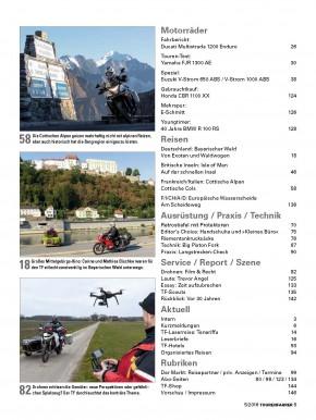 TOURENFAHRER Mai 2016 gedruckte Ausgabe