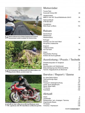 TOURENFAHRER Oktober 2015 gedruckte Ausgabe