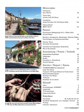TOURENFAHRER Dezember 2016 gedruckte Ausgabe